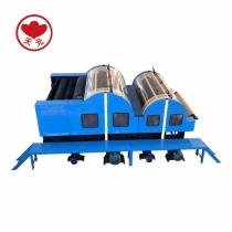 HFJ-18 Double Cylinder Double Doffer With Random Roller Carding Machine