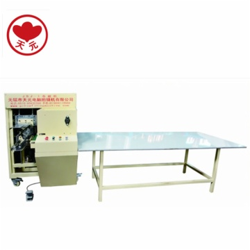 JBJ-3 Quilt/pillow coiling and rolling machine