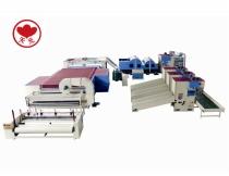 WJM-2 Glue-free Wadding Production Line