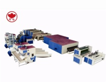 WJM-3 Glue Free Wadding And ZCM-1000 Needle Punching Production Line
