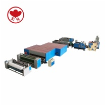 WJM-2+ZCM-1000 Thermo Bonded Wadding And Needle Punching Production Line