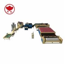 WJM-3 Glue Free Wadding Production Line(Electricity Heating)