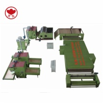 WJM-3 Thermo Bonded Wadding Production Line(Electrical Heating With Hot Air Circulating System)