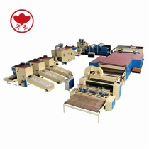 YWJM-1 Stiff Wadding/Glue Free Wadding Production Line