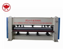 ZCJ-1 Middle-speed Pre Needle Punching Machine