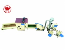 ZXJ-380 pillow filling machine and KBJ-2 bale opener
